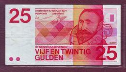 PAYS - BAS - 25 GULDEN Jan Pietersz Sweelinck - 10/02/1971 - P.92a - Pays-Bas