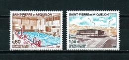 St. Pedro Y Miquelon  Nº Yvert  431/2  En Nuevo - St.Pedro Y Miquelon