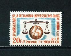 St. Pedro Y Miquelon  Nº Yvert  370  En Nuevo - Nuevos
