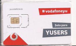 TARJETA GSM VODAFONEYU - Tarjetas Telefónicas