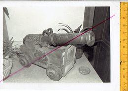 44820 - ANCIEN CANON DE BRONZE - OLD BRONZE CANNON - OUD BRONZEN KANON - Guerra, Militari