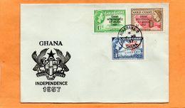 Ghana 1957 FDC - Ghana (1957-...)