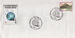 Italia 1985 Rimini Campionato Mondiale Di Pattinaggio Artistico Annullo Busta Dedicata - Pattinaggio Artistico