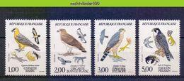 Mwe2582 FAUNA ROOFVOGELS BIRDS OF PREY GREIFVÖGEL RAUBVÖGEL AVES OISEAUX FRANCE 1984 PF/MNH - Arends & Roofvogels