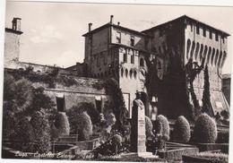 A205  LUGO RAVENNA CASTELLO ESTENSE SEDE MUNICIPIO 1964 - Ravenna