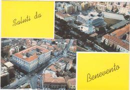 A206  SALUTI DA BENEVENTO VEDUTA AEREA 1970 CIRCA - Benevento