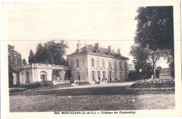 ***  91  ***   MONTGERON  Château De Chalendray - TTB écrite - Montgeron