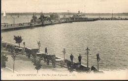 SOUTHAMPTON - The Pier From Esplanade --ENGLAND - Voyagée 1907 -  Recto Verso- Paypal Free - Southampton