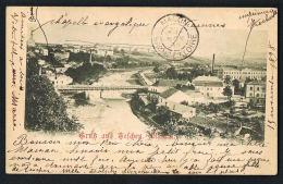 Grub Aus TELCHEN -  TESCHEN- CIESZYN - POLAND    Scans Recto Verso  Voyagée 1898-  PAYPAL FREE - Polonia