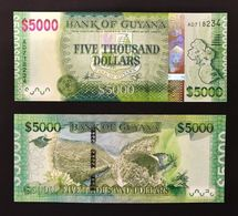 GUAYANA - GUYANA 5000 DOLLARS 2014 NEW LOTTO 317 - Guyana