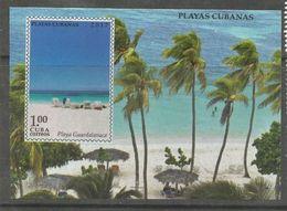CUBA/KUBA 2017 PLAYAS CUBANAS  SOUVENIR SHEET MNH - Cuba