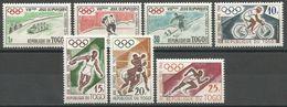 Togo,WOG-Squaw Valley & SOG-Rome '60 1960.,MNH - Togo (1960-...)