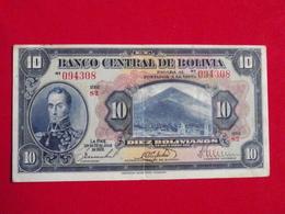 Bolivie - Bolivia 10 Diez Bolivianos 1928 Pick 121a TTB+ / VF+ ! (CLN77 ) - Bolivia