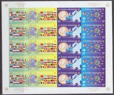 Bosnia/Herzegovina Sarajevo 2005 50Y Europa  4v In Sheetlet IMPERFORATED  ** Mnh (F6869) Promo - Europese Gedachte