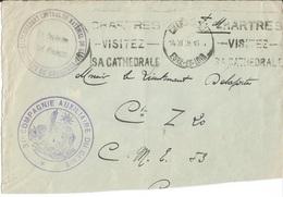 Devant D ' Enveloppe  Etablissement Central  Du Matériel Du Génie  CHARTRES / Envoi  En 1939 Au Lt DELAPORTE - Marcophilie (Lettres)