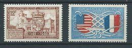 FRANCE 1949 . N°s 839 Et 840 . Neufs **  (MNH) - Neufs