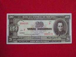 Bolivie - Bolivia 20 Veinte Bolivianos 1945 Pick 140 NEUF / UNC ! (CLN79 ) - Bolivia