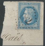 Lot N°40032   N°29B, Oblit GC 182 Aubigny-en-Artois (61), Ind 5 - 1863-1870 Napoléon III Lauré