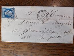 30.01.18.LSC De Gournay-en-Bray A Voir!! Sur N°14,verso! - Postmark Collection (Covers)