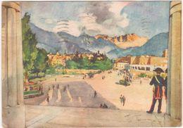 A238 BOLZANO IL CATINACCIO DAL MONUMENTO ALLA VITTORIA 1953 - Bolzano (Bozen)