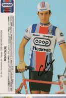 CYCLISME TOUR  DE  FRANCE  Autographe  REGIS CLERE - Cycling