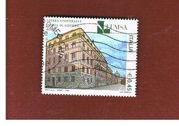 ITALIA REPUBBLICA  - UNIF. 2835  -   2004 LUMSA              -            USATO - 6. 1946-.. Repubblica