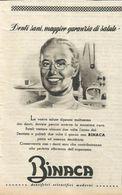 BINACA DENTIFRICI SCIENTIFICI MODERNI RITAGLIO DI GIORNALE 1952 - Vecchi Documenti