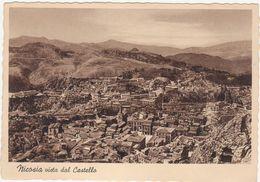A244 NICOSIA ENNA VISTA DAL CASTELLO 1942 - Enna
