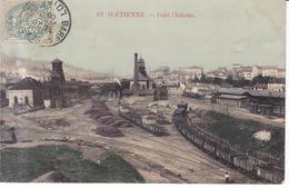 St. Etienne Puits Chatelus 1906 - Saint Etienne