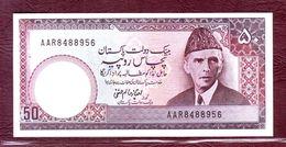 PAKISTAN - 50 RUPEES Mohammed Ali Jinnah -  ND (1977/1984)- P.30 - Pakistan
