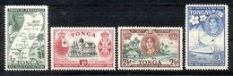 Toga - Tonga 1951 - Michel Nr. 94 - 97 * - Tonga (...-1970)