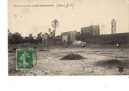 MAROC---RARE----panorama Du Ksar De BOU-DENIB  ( 1909 )---voir 2 Scans - Autres