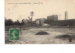 MAROC---RARE----panorama Du Ksar De BOU-DENIB  ( 1909 )---voir 2 Scans - Maroc