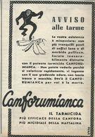 CANFORUMIANCA TARMILIDA  RITAGLIO DI GIORNALE 1952 - Vecchi Documenti
