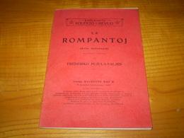 Espéranto : La Rompantoj De Frederiko Pujula Valjes; Photos Pleines Pages, Jamai Lu, Pages Non Coupées - Livres, BD, Revues