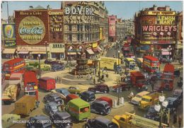 A261 PICCADILLY CIRCUS LONDON 1960 CIRCA - Piccadilly Circus