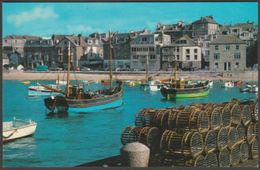 View From The Harbour, St Ives, Cornwall, C.1960s - Photo Precision Postcard - St.Ives