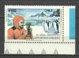 Chile 1989 Mi 1301 MNH PENGUINS - Pinguïns & Vetganzen