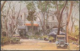 The Entrance, Mount Lavinia Hotel, Colombo, Ceylon, C.1920s - Plâté Postcard - Sri Lanka (Ceylon)