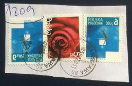 Poland, 3 Stamps, Used - Gebruikt