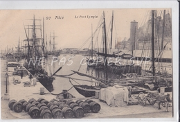 CPA NICE 06 LE PORT LYMPIA - Transport (sea) - Harbour