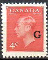 PIA - CANADA - 1950-52 : Francobollo Di Servizio  - (Yv  23) - Officials