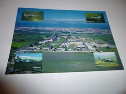 VUE AERIENNE DE L'AIA DE CLERMONT-FERRAND ...ATELIER INDUSTRIEL DE L'AERONAUTIQUE ...M2000..MIR F1..ETC - Aviation