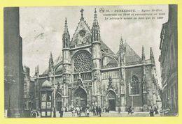 * Dunkerque (Dép 59 - Nord - La France) * (P.T.D. Nr 93) église St Eloi, Cheval, Animée, Kerk, Church, Kirche - Dunkerque