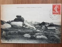 Porspoder.roche Tremblante Et La Gare.édition Le Bourdonnec - France