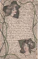 RUSSIA Illustrateur Femmes Art Nouveau - Otros Ilustradores