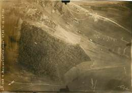 300118 PHOTO Aérienne Reconnaissance Allemande AVIATION GUERRE 14 18 MILITARIA - 55 MOIRY FLABAS CREPION Bois De Crépion - France