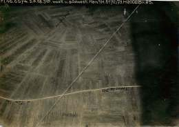 300118 PHOTO Aérienne Reconnaissance Allemande AVIATION GUERRE 14 18 MILITARIA - 55 HAN SUR MEUSE B - Other Municipalities
