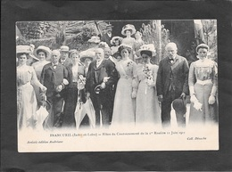 FRANCUEIL - Fêtes Du Couronnement De La 1ère Rosière 11 Juin 1911. - Non Classés