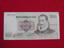 Chili - Chile 500 Quinientos 1994 Pick 153e SUP / XF ! (CLN97) - Chile
